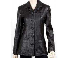 Best Women's Black Color Leather Coat 16 recent views