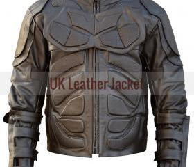 New Men Handmade Batman Costume Motorcycle Leather Jacket