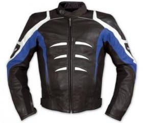 New Men's Unique Style Multicolor Biker Motorcycle Leather Jacket