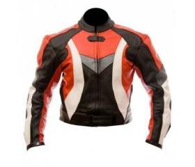 Men's Simple Style Multicolor Biker Motorcycle Leather Jacket