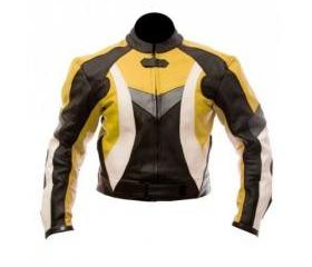 Men's Simple Style Multicolor Biker Leather Jacket